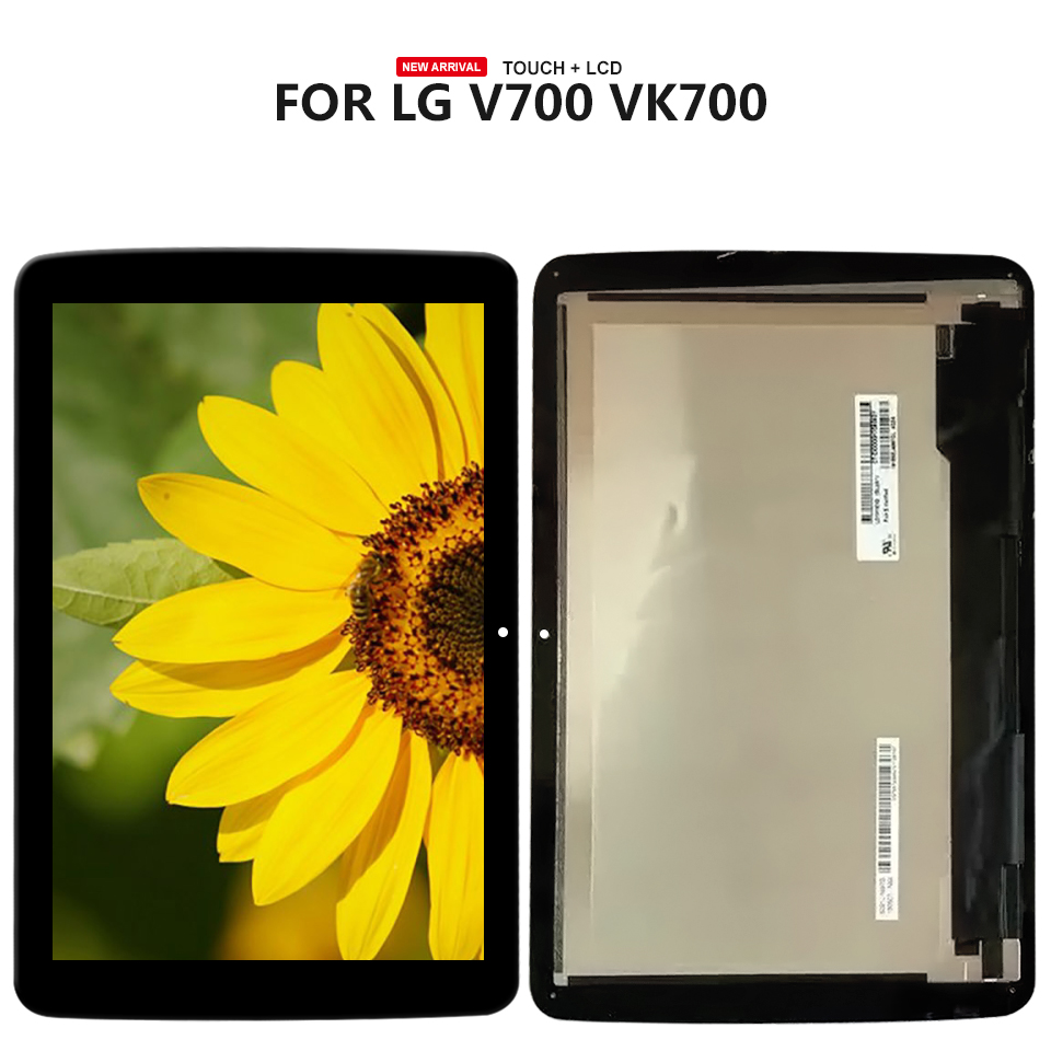 10.1'' For LG G Pad 10.1 V700 VK700 Touch Screen Digitizer LCD Display Assembly Tablet Panel LCD Combo Repair Parts цена