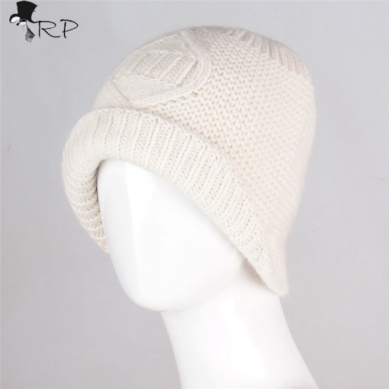 2016 New Men Warm Autumn winter beanies hat unisex knitted 70%wool Women Skullies  cream  ski gorros cap Fleece Hat  de lana winter women beanie curl all match crochet knitted hiphop hats warm ski hat baggy cap femme en laine homme gorros de lana 62