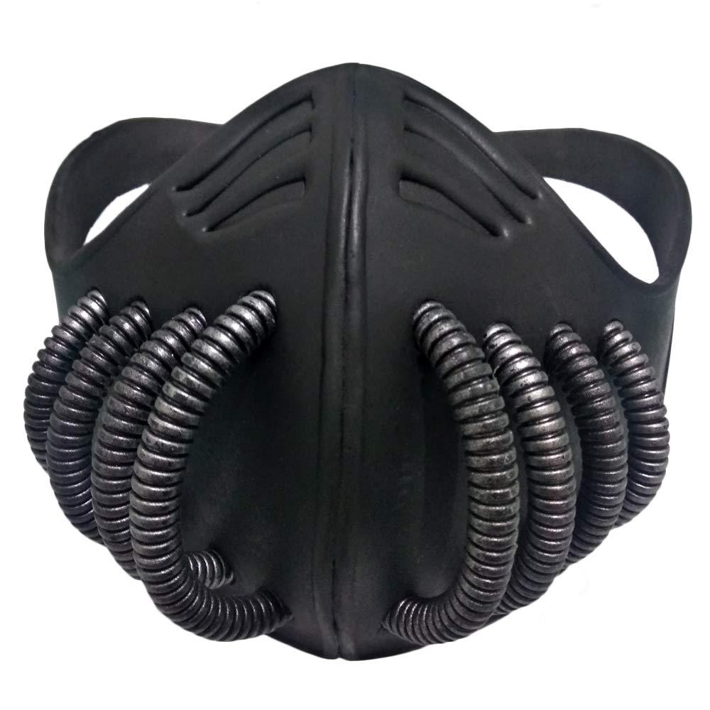 Himiko Toga Mask Cosplay My Hero Academia Himiko Toga Cosplay Half Face Mask Black EVA Cosplay Prop For Halloween
