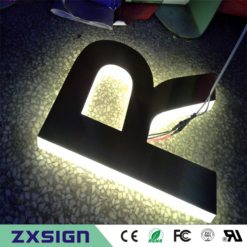 Factory Outlet 3D  Acrylic Illuminated Indoor Advertising