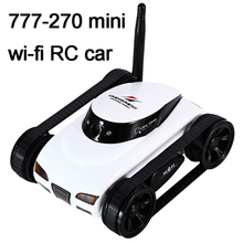 цена на Happy Cow 777-270 WiFi i-spy Tank Car FPV 30w Pixels Deformable Camera Support IOS Phone or Android iPhone iPad iPod Controller