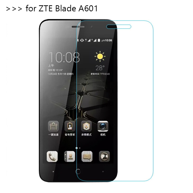 on the for <font><b>zte</b></font> <font><b>blade</b></font> protective glass a610 tempered glas <font><b>screen</b></font> protector protection <font><b>a601</b></font> film 601 610 510 tremp image