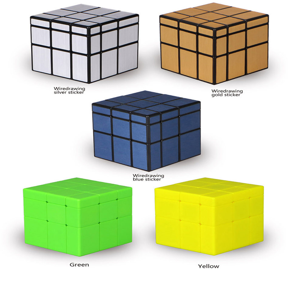 Qiyi 3x3 Mirror Cube 3x3x3 QiYi Mirror Magic Cube 3 Layers Speed Cube Professional Puzzle Toys For Children Kids Gift Toy