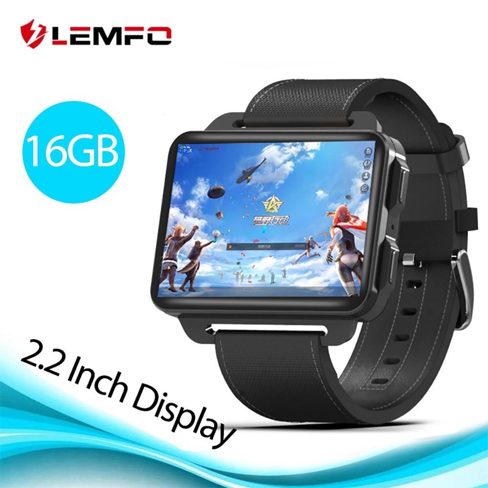 dfdd6938a5ad7 LEMFO LEM4 برو 2.2 بوصة عرض 3G ساعة رقمية أندرويد 5.1 1200 Mah بطارية  ليثيوم 1
