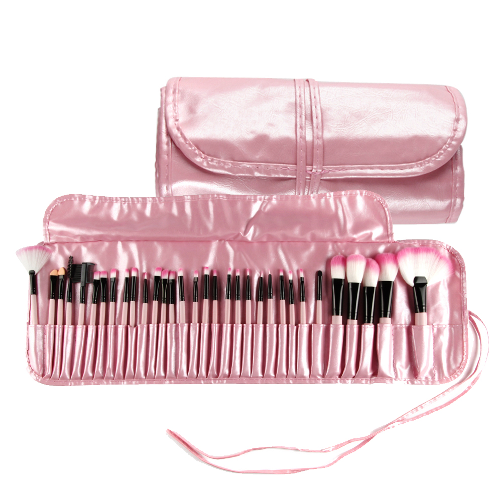 <font><b>32</b></font> <font><b>Pcs</b></font> Make-Up Pinsel <font><b>Set</b></font> Kosmetik Pinsel Tool Kit Pulver Erröten Augenbraue Lip Foundation Pinsel Professional Make-Up Pinsel <font><b>Set</b></font> image