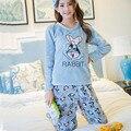 Thickening Flannel Winter Women Pajama Sets  Pink Pajamas Pyjama Women Primark Pijama Mujer Pijamas Entero Pyjamas Feminino