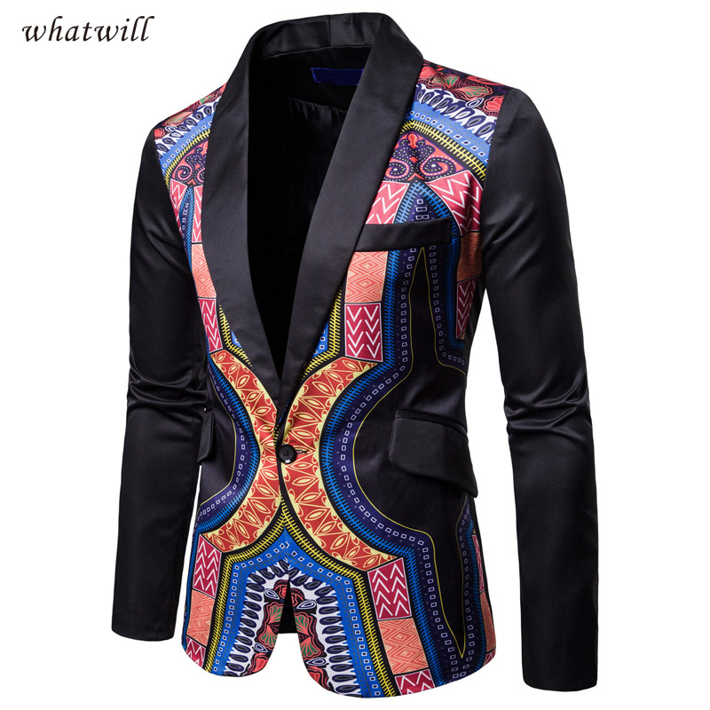 Traditional cultural wear mens africa suit jacket clothing fashion african clothes hip hop blazers casual dress