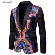 Традиционных культурных одежда мужская Африка пиджак одежда модная африканская одежда в стиле хип-хоп пиджаки повседневные платья халат африканского