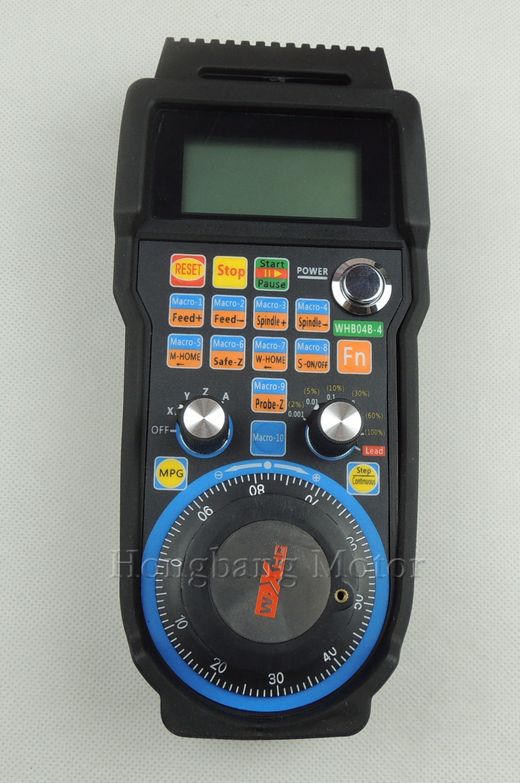 Máquina de gravura controle remoto volante mach3 mpg usb sem fio roda de mão para cnc 3 eixos 4 eixo controlador fresadora - 2