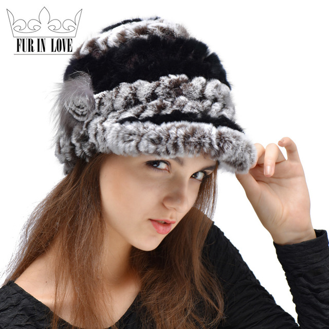 96d75f6f6b633 Punto genuino De la Piel Tirando Viseras Sombreros Para Damas Real Rex  Visera de la Gorra