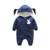 Coelho do bebê roupas da moda traje do bebê recém-nascidos macacão de manga longa bebê quente traje de halloween