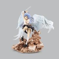 Free Shipping 9 AngelBeats Broccoli Angel Beats! Tenshi Kanade Tachibana Boxed 24cm PVC Action Figure Collection Model Doll