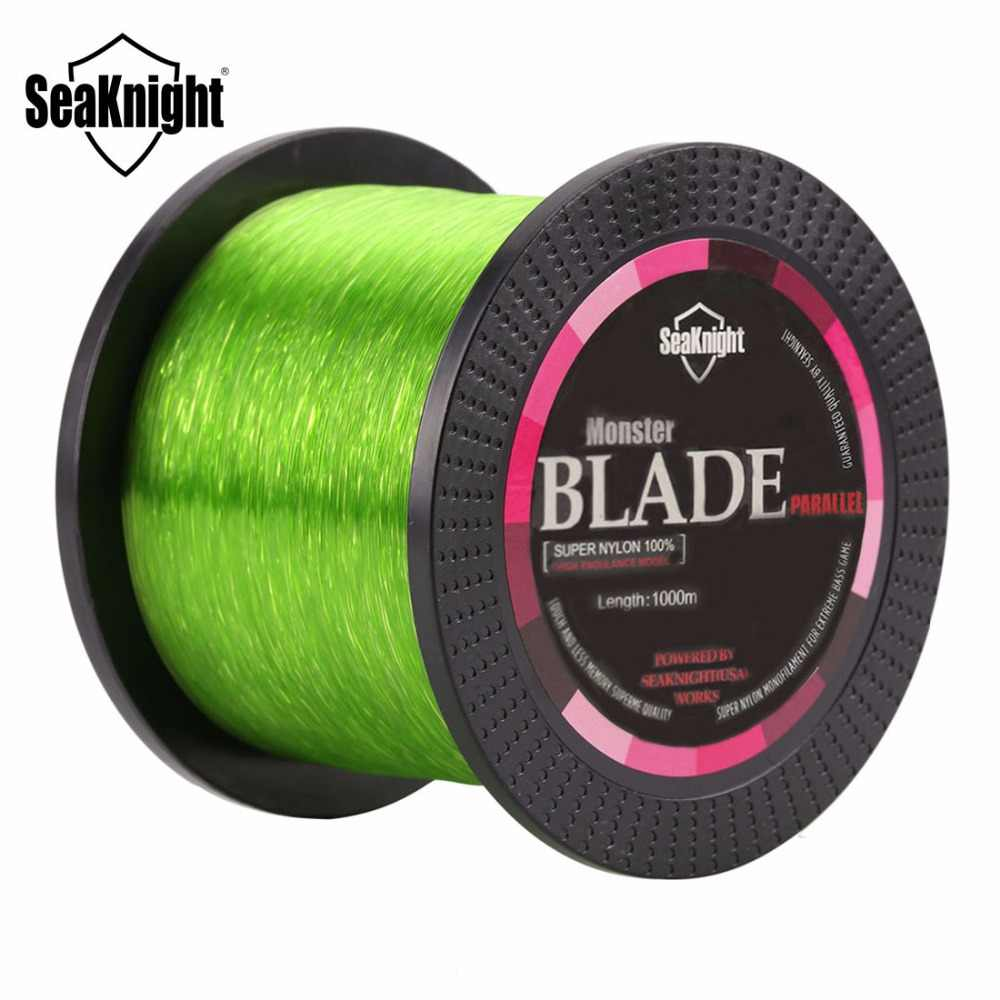 SeaKnight Brand BLADE Series 500M 1000M Nylon Fishing Line Monofilament Japan Material Super Strong Carp Fishing Line 2-35LB