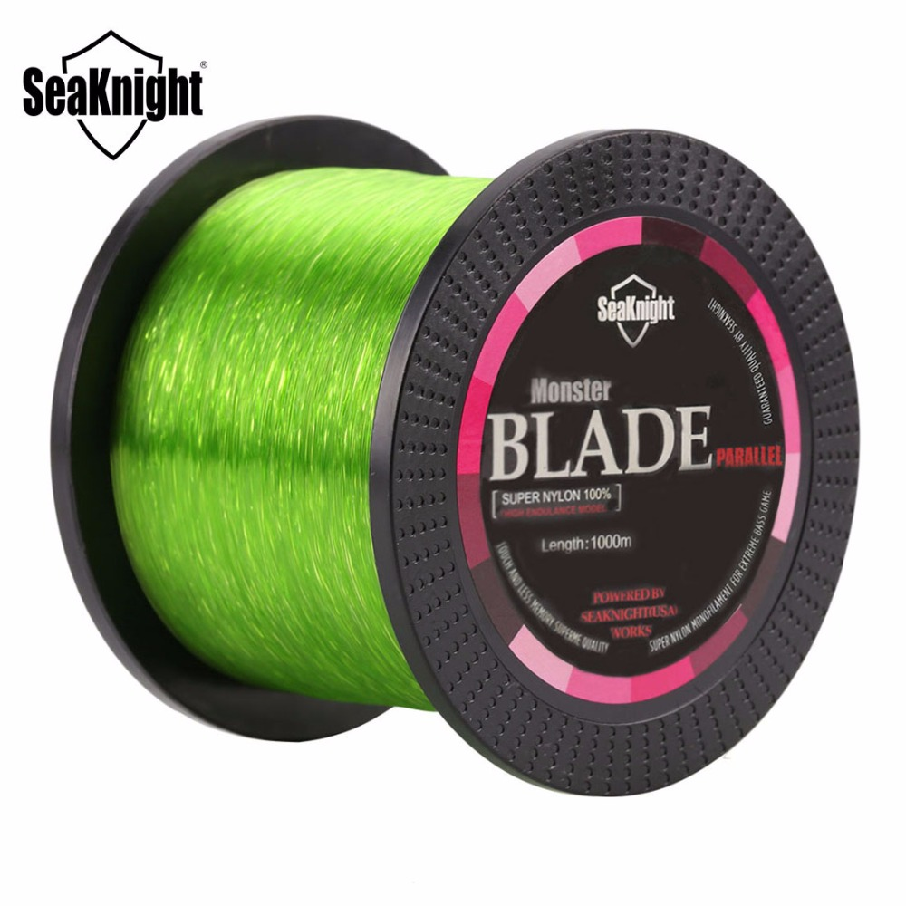 Seaknight usa design monofilament nylon fishing line 1000m for Nylon fishing line