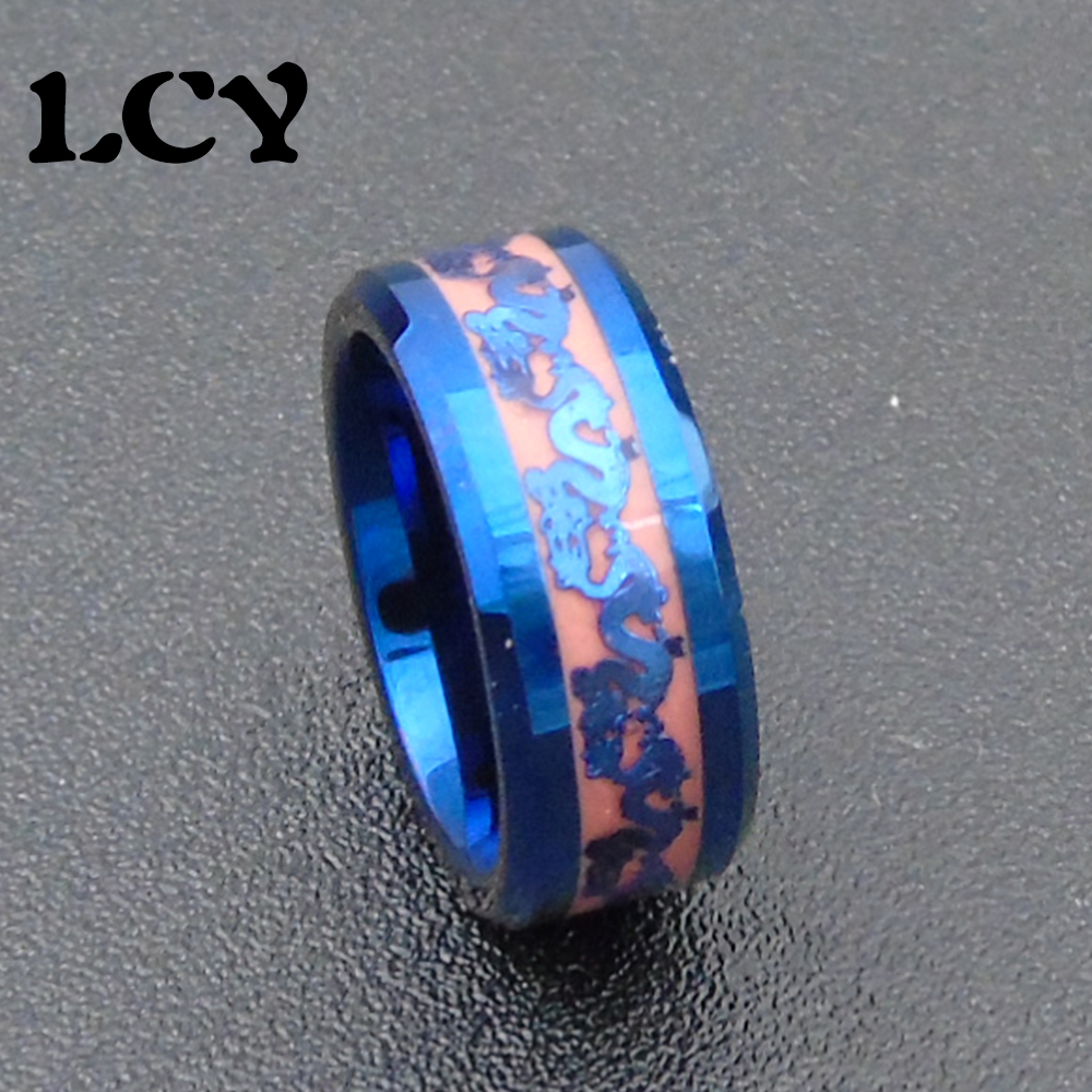 gold band bands engagement product men affordable for stainless steel black carbon ring rings eejart white des dragon nibelungen fiber blue wedding