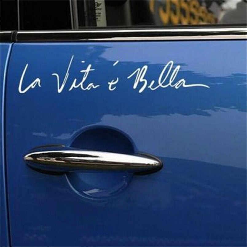 Car Stickers Stil Auto Styling Aufkleber Leben Ist Auto Aufkleberaufkleber Decal 2017 New Car Styling Car Accessories