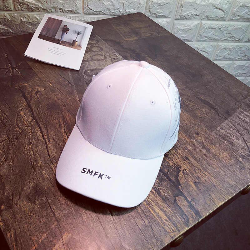2019 قبعة المرأة الربيع و الصيف الشارع الإنجليزية الأبجدية قبعة بيسبول الأزياء عارضة قبعة بتصميم هيب هوب قناع الرجال قبعة الشمس snapback