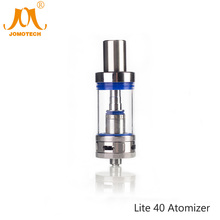 JomoTech Glass 3 0ml Tank Ecig Rebuildable Atomizer 0 5ohm Lite 40 Atomizer E cigarette Clearomizer