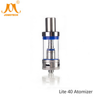 2016 Jomo Pyrex Glass 4 5ml Tank Ecig Rebuildable Atomizer Lite 40 Atomizer Ecigarette Atomizer For