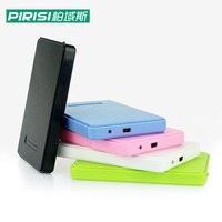 Новый стиль 2,5 ''pirisi HDD тонкий красочный внешний жёсткий диск 120 ГБ USB2.0 Портативный хранения диска опт и розница распродажа
