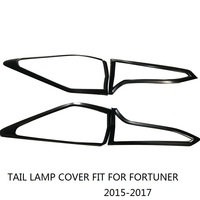 CITYCARAUTO CAR STYLING FOR FORTUNER REAR TAIL LAMP COVER REAR LIGHTS COVER FIT FOR TOYTA FORTUNER