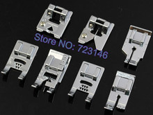 Multifunctional kit 32 Part Presser Foot Sew Accessories Press Feet For Brother Singer Toyota GIFT Needle HA x 1 130/705H 100psc