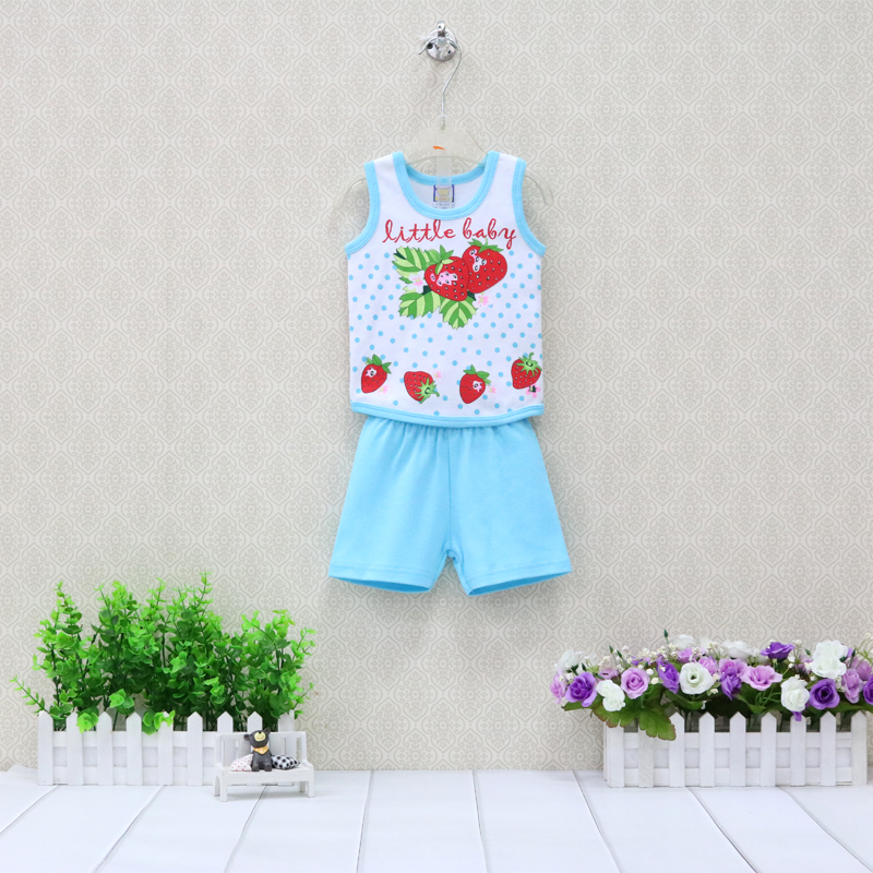 Детский комплект из 2 предметов Little Q, жилет и шорты для мальчиков и девочек на лето и осень, комплект одежды для малышей, Рождественская одежда|Комплекты одежды|   | АлиЭкспресс