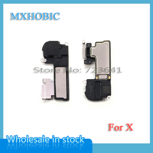 Image 2 - 5pcs/lot Ear Speaker For iPhone X XS Max XR Earpiece Listening Sensor Flex Cable Replacement Parts Free shipping