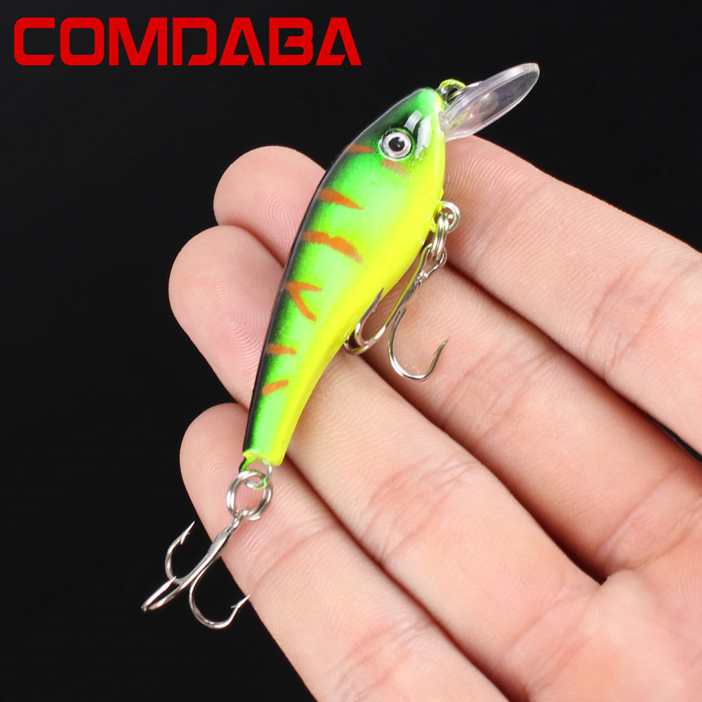 1pcs Swim Fish Fishing Lure 5.7cm 4.5 g Artificial Hard Crank Bait topwater Wobbler Japan Mini Fishing Crankbait lure 1pcs 12cm 14g big wobbler fishing lures sea trolling minnow artificial bait carp peche crankbait pesca jerkbait ye 37