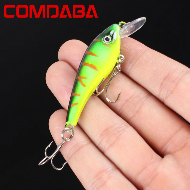 1pcs Swim Fish Fishing Lure 5.7cm 4.5g Artificial Hard Crank Bait topwater Wobbler Japan Mini Fishing Crankbait Lure