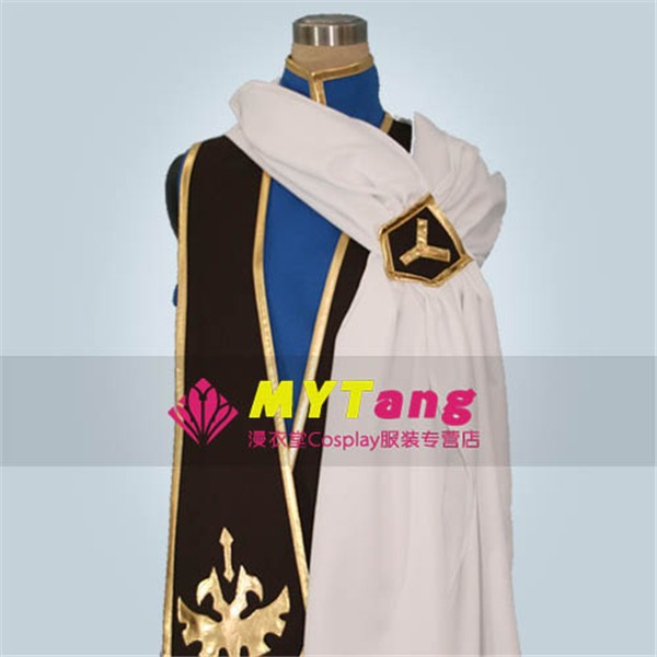 Costumes & Accessories Code Geass R2 Schneizel El Britannia Party Anime Clothing Uniform Cosplay Costume Blue Full Set