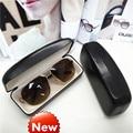 Очки Коробка Жесткий Черный Чехол для очков цветные контактные линзы косметолог Зрелище случае женские очки коробка