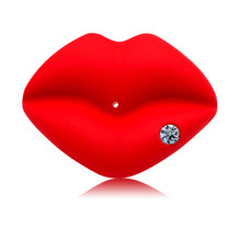 Dental CareNew Baby Pacifier Red Kiss Lips Dummy Pacifiers Funny Silicone Nipples Teether Soothers Dropship