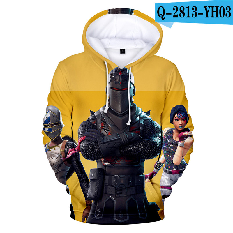 Fortniter Battle Royale Hoodie Fortnited Children Clothing Fortnight 3D Print Game Clothings Boys Children Clothing Fortnight