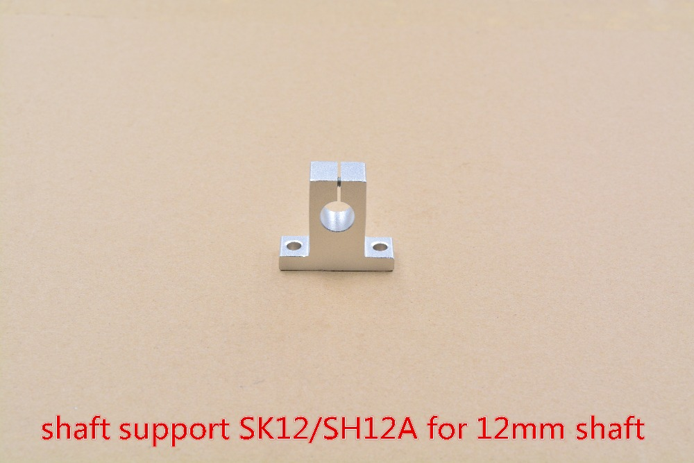 SK12 12mm bearing shaft support for 12mm rod round shaft support XYZ Table CNC router SH12A 1pcs axk shf8 shf10 shf12 shf16 bearing shaft support for 8mm 10mm 12mm 16mm rod round shaft support diy xyz table cnc 3d printer