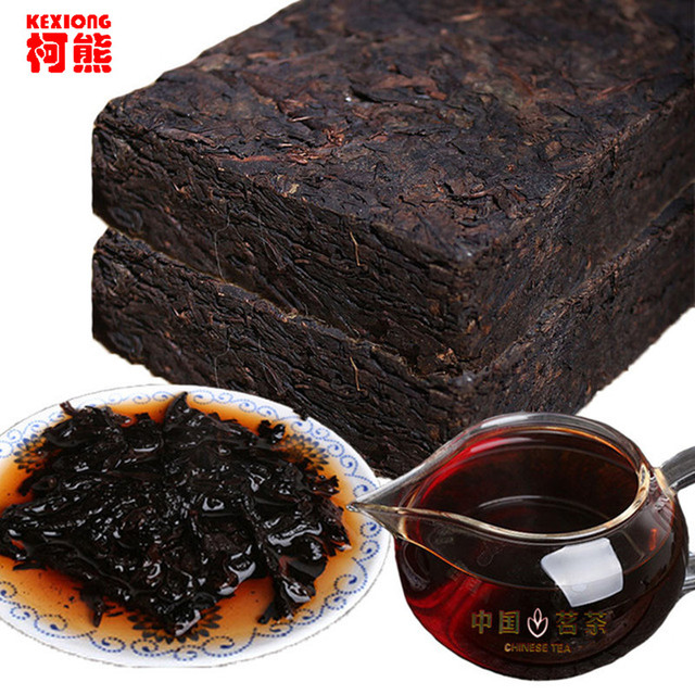 C-PE200MZ Ripe Pu'er Chinese Puer Tea Brick 45 Years Old Shu Pu-erh Ancient Tree Yunnan pu erh Tea Pu-erh Tea