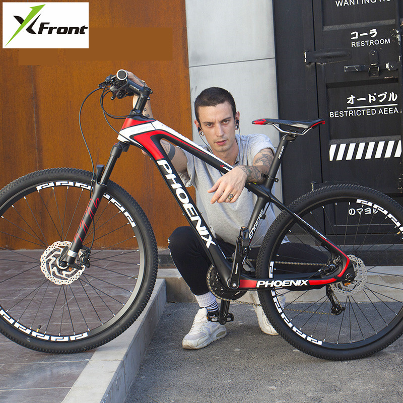 New Brand Mountain Bike Carbon Fiber Frame 27.5 inch Wheel Hydraulic Disc Brake M370/M610 Shift 27/30 Speed MTB Bicycle image