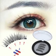 Magnetic Eyelashes with 4 magnetic Natural Long Handmade False Fake magnetique Cheap Extension