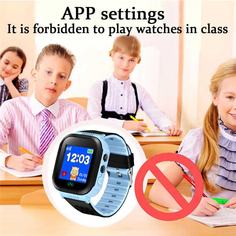 LIGE dzieci dzieci zegarki chłopiec dziewczyny LED stoper cyfrowy zegarek wodoodporny zegarek dla dzieci SOS bezpieczeństwa otrzymać telefon zwrotny od zegarek + pudełko