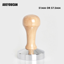 Free Shipping Coffee Espresso Tamper Wooden
