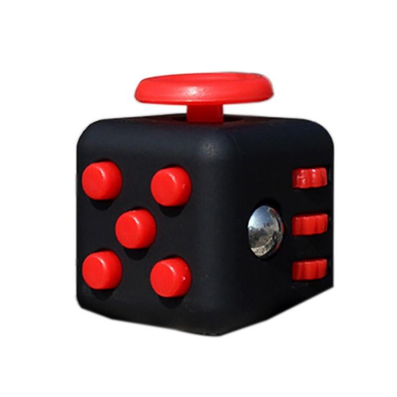 11 Цветов Непоседа Куб Стол Игрушка Непоседа Стресс Куба Анти-Раздражительность Игрушки Магия Cobe Смешно Рождественский Подарок Игрушки