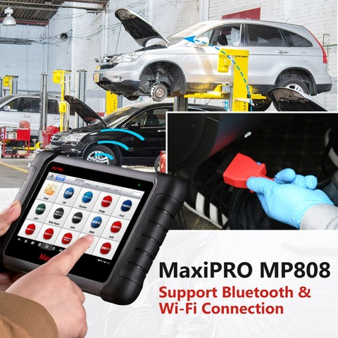Autel MaxiPRO MP808 DS808 OBD2 Automotive Scanner OBDII Diagnostics Tool Code Reader Scan Tool Key Coding as Autel MaxiSys MS906 Karachi