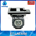 Replacement projector lamp bulb with housing ET-LAE4000 for PT-AE400 PT-AE4000