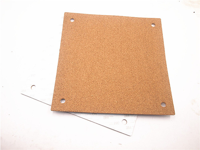 Cheap Funssor cork sheet adhesive Insulation sheet for Creality CR-10 3D printer heated bed thermal cork plate with adhesive tape