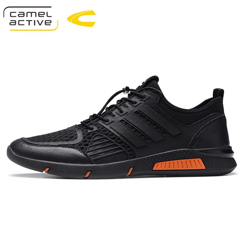 D'été Respirant La Casual Lacent Noir Hommes Confortable De Sneakers 2018 Plus Active Taille 44 Chaussures Camel bleu Mode IwggO