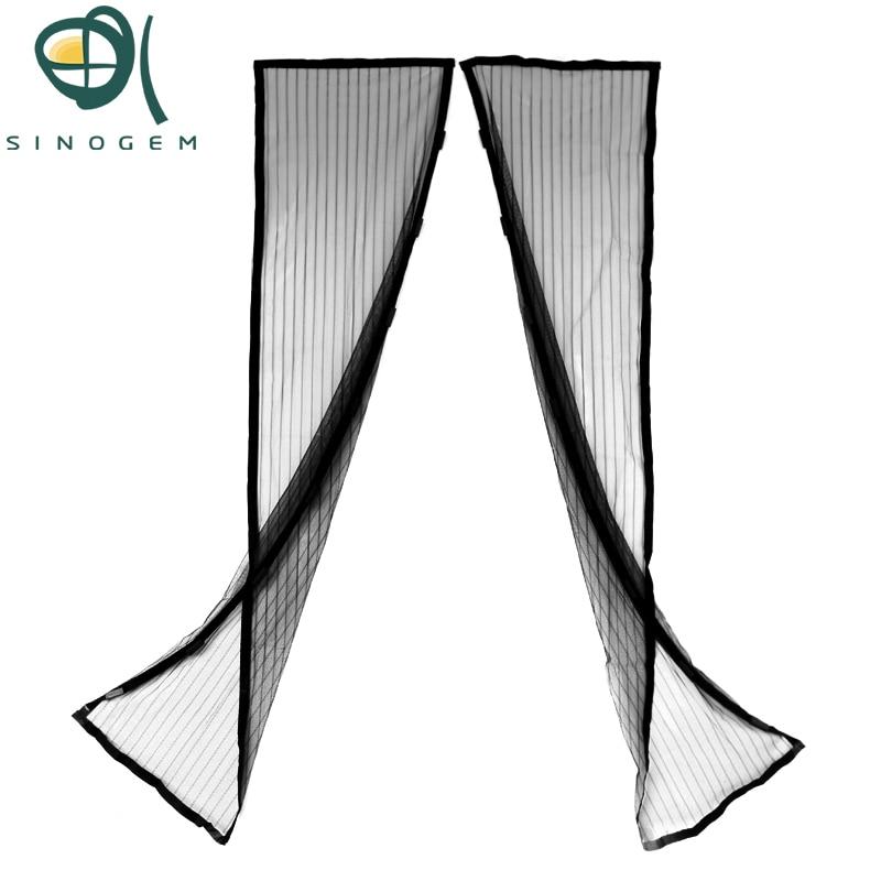 Increíble verano magnético Mosquiteras puerta Cortinas anti insectos pantalla cortina de puerta de cocina moda Mosquiteras cortina magnética