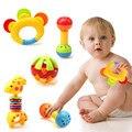Brinquedos do Chocalho do bebê Fun Pouco Alto Jingle Ball Treinamento Grasping Toy Capacidade Desenvolver a Inteligência Educacional Nova Chegada