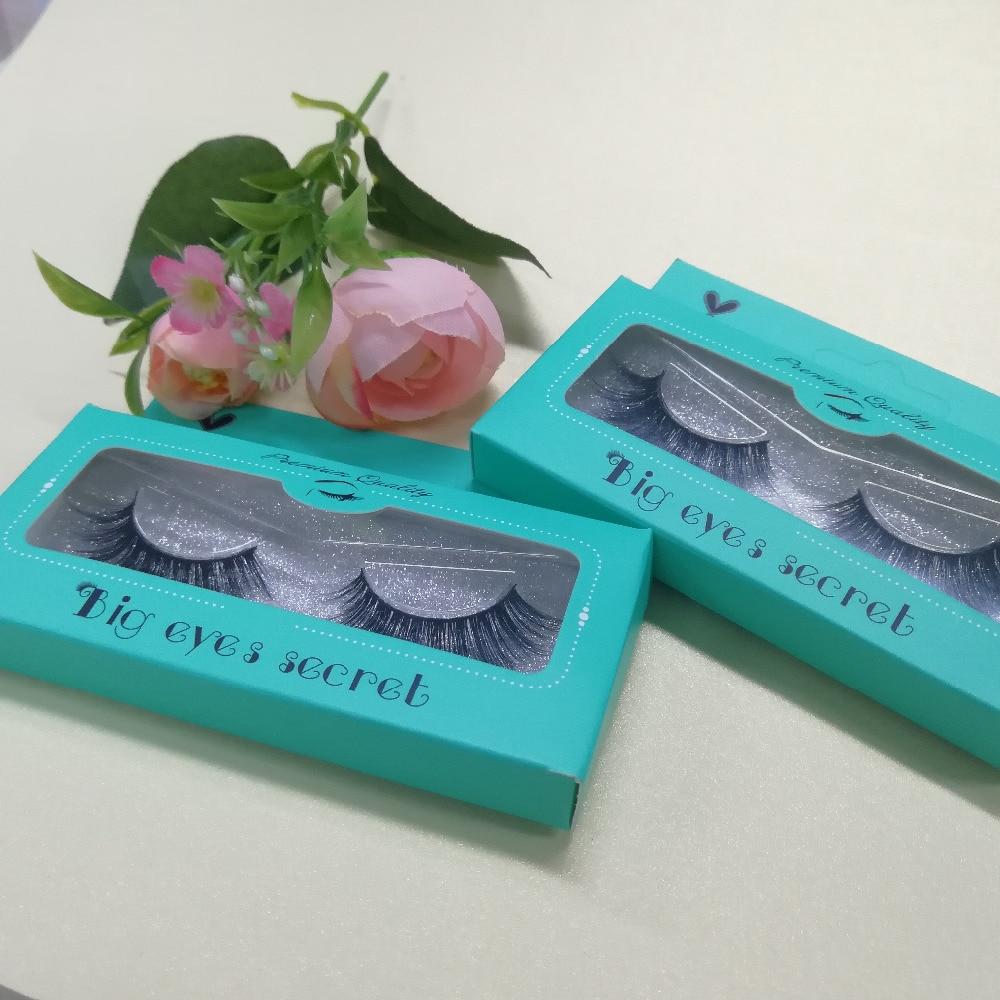 Big eyes secret high quality Mink Lashes Customize boxes 100% Handmade 3D Mink Eyelashes Extension Free Shipping