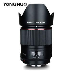 Image 5 - YONGNUO YN35mm F1.4 szerokokątny Prime pełna ramka AF MF obiektyw do modeli canon 6D 5D MARK IV 6D MARK II T6 750D 70D 7D 80D 650D kamera