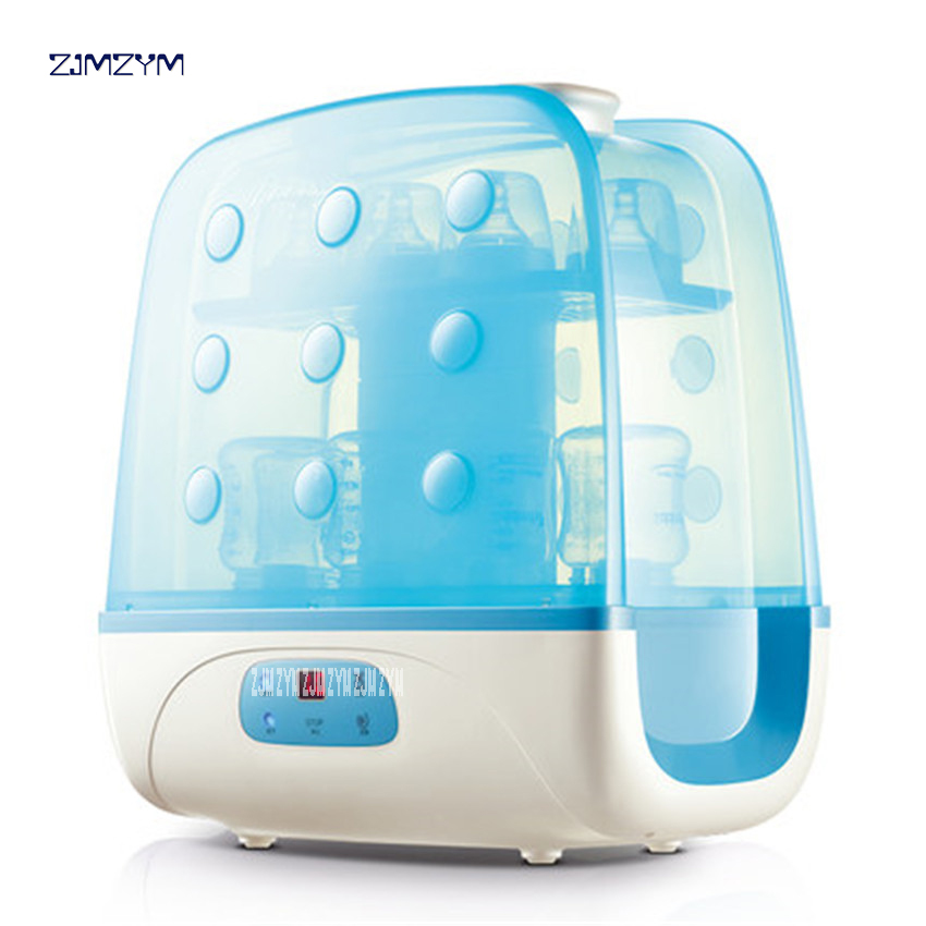 Großgeräte Haushaltsgeräte Baby Flasche Sterilisator Mit Trocknen Multi-funktion Baby Dampf Sterilisation Desinfektion Schrank Anion Desinfizieren 500 Watt Zq-2348 Ungleiche Leistung